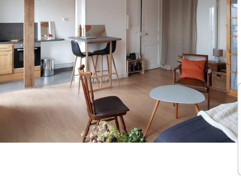 Appartement sur les toits de Paris